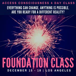 December Foundation Class