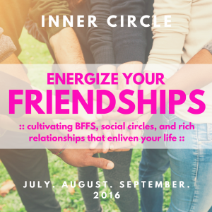 Friendship Term in the Inner Circle